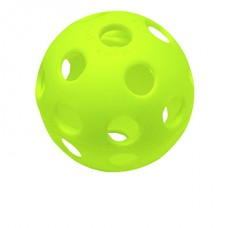 12 IN NEON PLASTIC TRAINING BALLS