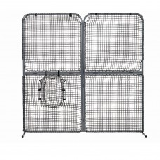 Collapsible 4-Panel Screen